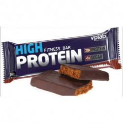 Батончик высокопротеиновый Vplab 40% Шоколад-ваниль, 50 г