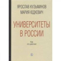 Университеты в России. Как это работает