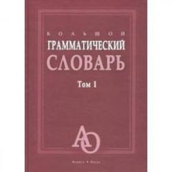 Большой грамматический словарь. В 2-х томах. Том 1