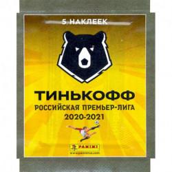 Российская Премьер-Лига сезон 2020-2021. 5 наклеек (8018190012378)