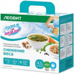 Худеем за неделю. Низкокалорийная программа питания, Снижение веса (с грибами), 697 гр.