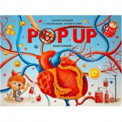 POP UP энциклопедия. Анатомия. Книжка-панорамка с объемными элементами