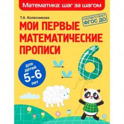 Мои первые математические прописи. Для детей 5-6 лет