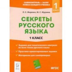 Секреты русского языка. 1 класс. ФГОС