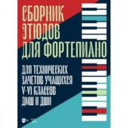 Сборник этюдов для фортепиано. Для технических зачетов учащихся V-VI классов ДМШ и ДШИ