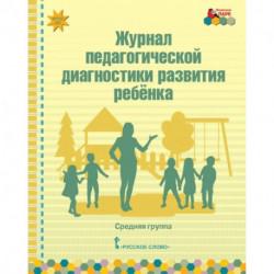 Журнал педагогической диагностики развития ребёнка. Средняя группа. ФГОС