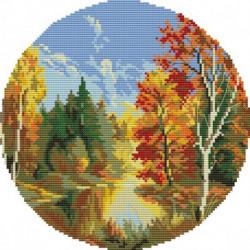 Набор для вышивания крестом № S8158, 35x35 см