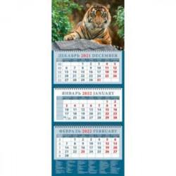 Календарь квартальный на 2022 год 'Год тигра. Симпатичный хозяин джунглей' (14217)