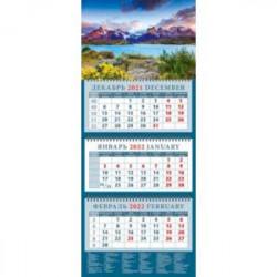Календарь квартальный на 2022 год 'Изумительный пейзаж. Патагония. Чили' (14252)