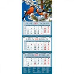Календарь квартальный на 2022 год 'Снегири' (14255)