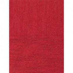 Вискоза натуральная. Цвет 88-Красный мак. 5x100 г.