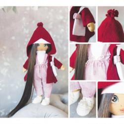Интерьерная кукла «Кэтти», набор для шитья, 18 x 22.5 x 3 см