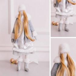 Мягкая кукла «Сказочная Зимушка» набор для шитья, 15,6 x 22.4 x 5.2 см