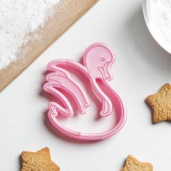 Форма для печенья и пряников «Лебедь», 10x8,5x1,5 см