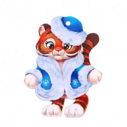 Подвеска «Тигрёнок Снегурочка»