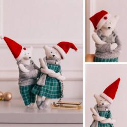 Мягкая игрушка «Кейлли и Лукас» набор для шитья, 15,6 x 22.4 x 5.2 см