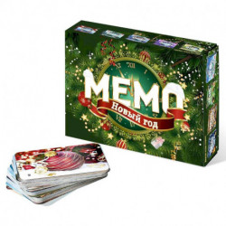 Настольная игра Мемо «Новый год»