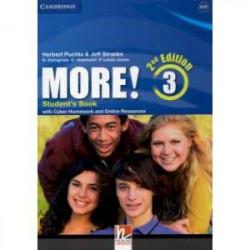 More! 2Ed 3 SB +Cyber Homework +Online Res