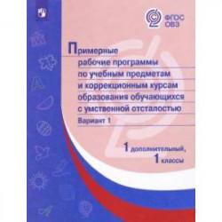 Примерные рабочие программы по учебным предметам и коррекционным курсам. 1 класс. Вариант 1.