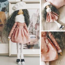 Интерьерная кукла «Джемма», набор для шитья 21 x 0.5 x 29.7 см