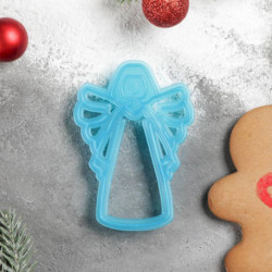 Форма для печенья и пряников «Ангел», 11,5x7,5x1,5 см