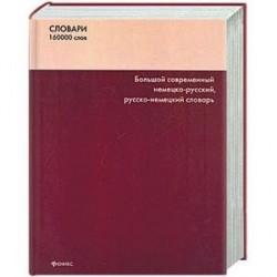 Большой современный немецко-русский,русско-немецкий словарь 160000 слов